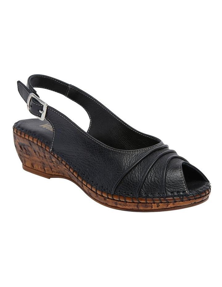 Dex Black Glove Wedge Sandal image 2