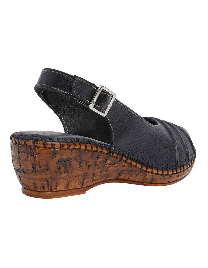 Dex Black Glove Wedge Sandal image 4