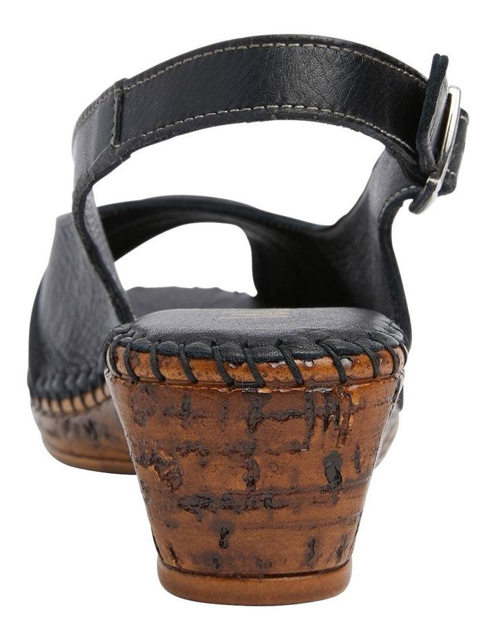Dex Black Glove Wedge Sandal image 5