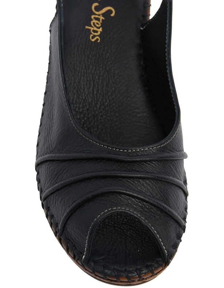 Dex Black Glove Wedge Sandal image 6