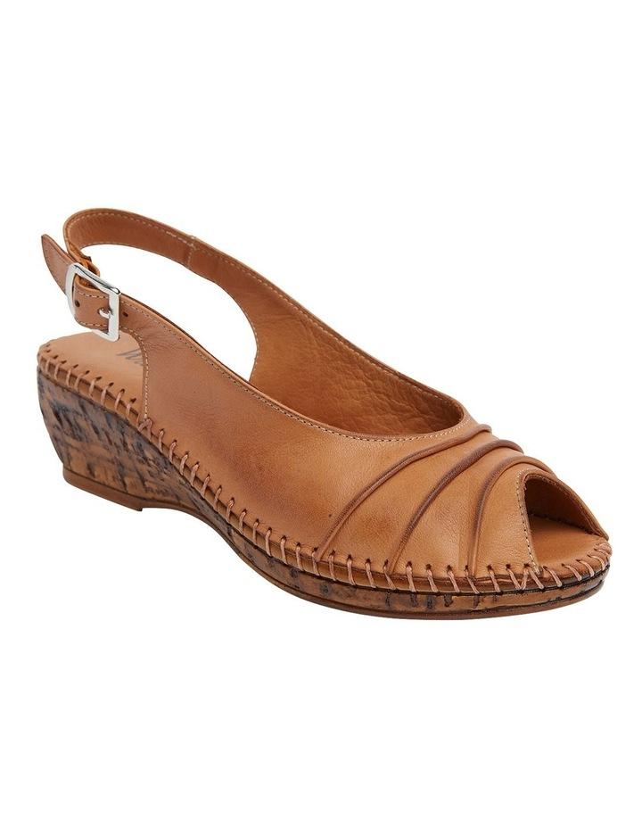 Dex Tan Glove Wedge Sandal image 2