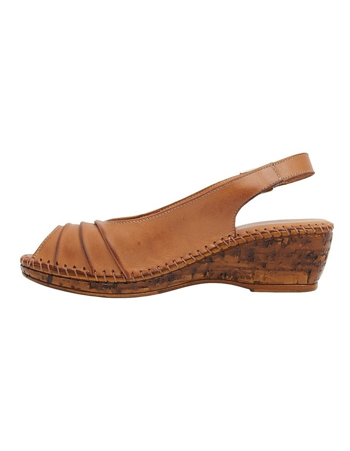 Dex Tan Glove Wedge Sandal image 3