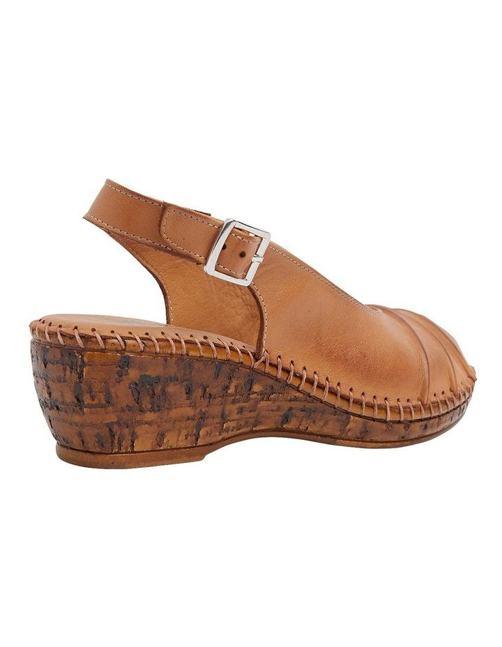 Dex Tan Glove Wedge Sandal image 4