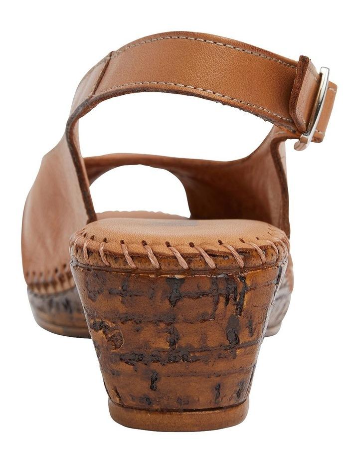 Dex Tan Glove Wedge Sandal image 5