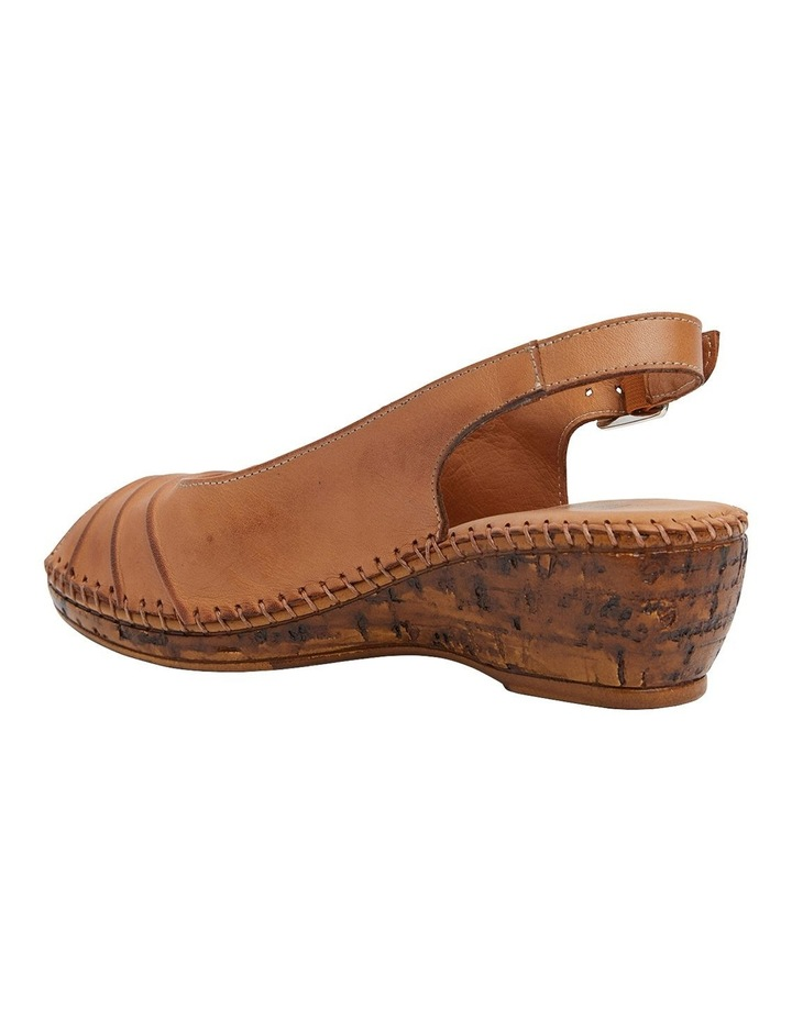 Dex Tan Glove Wedge Sandal image 7