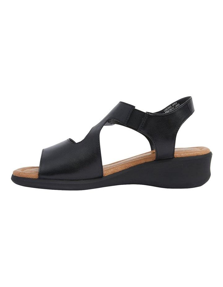 Patty Black Glove Sandal image 3
