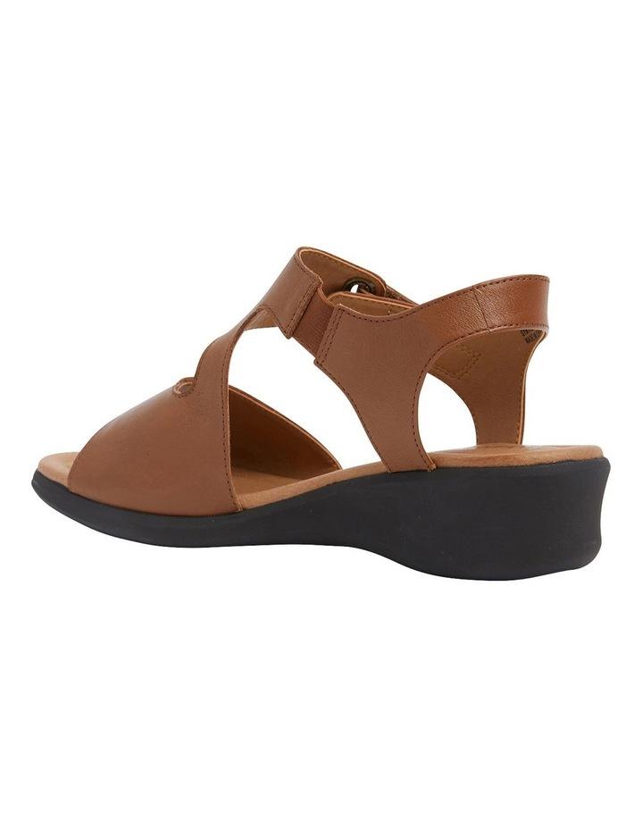 Patty Tan Glove Wedge Sandal image 7