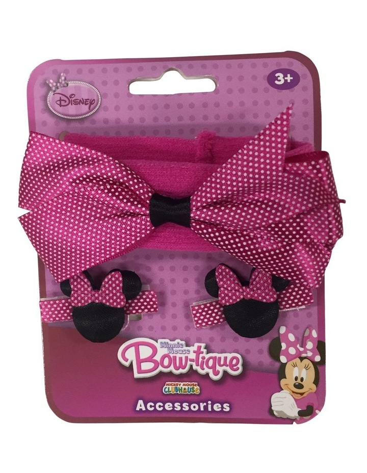 Minnie Hairwrap and Clips image 1