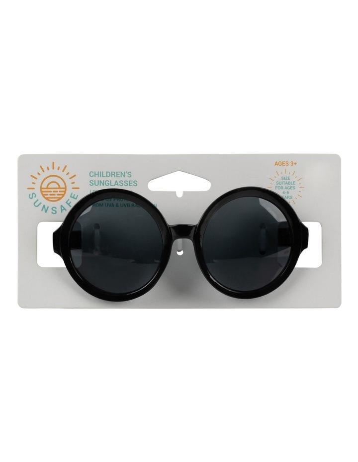 Sunglasses Round Black image 1