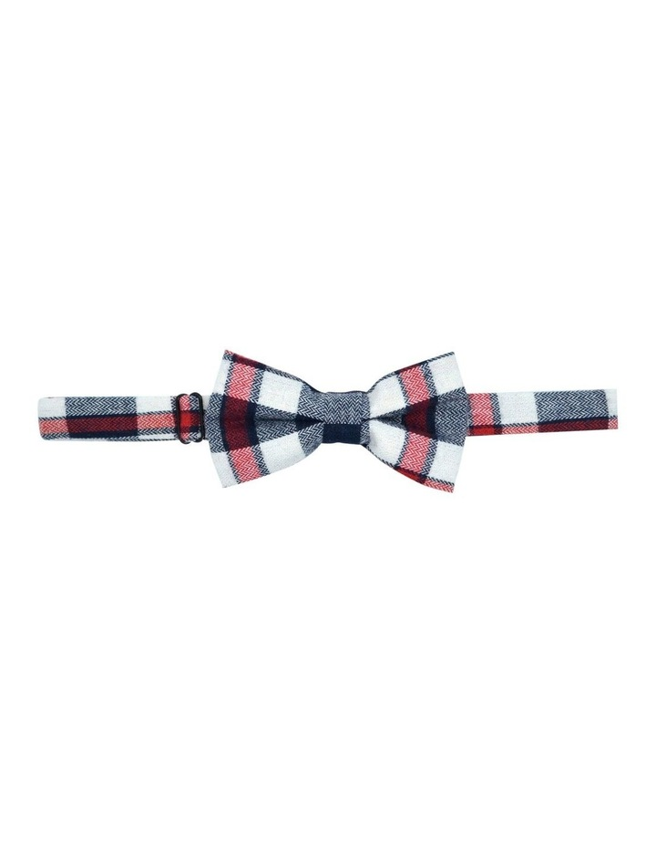 Wild One Bow Tie Navy Check image 1