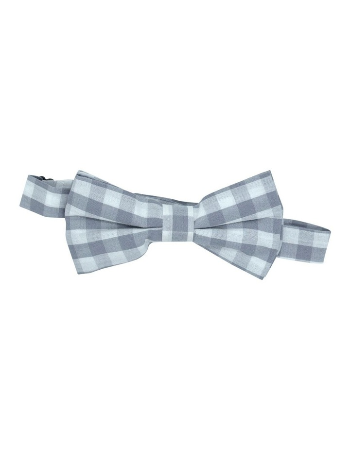 Wild One Bow Tie Grey Check image 1