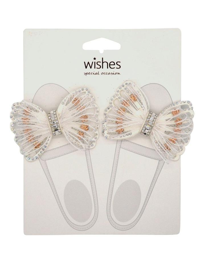 Wso Shoe Clips White & Bronze image 1