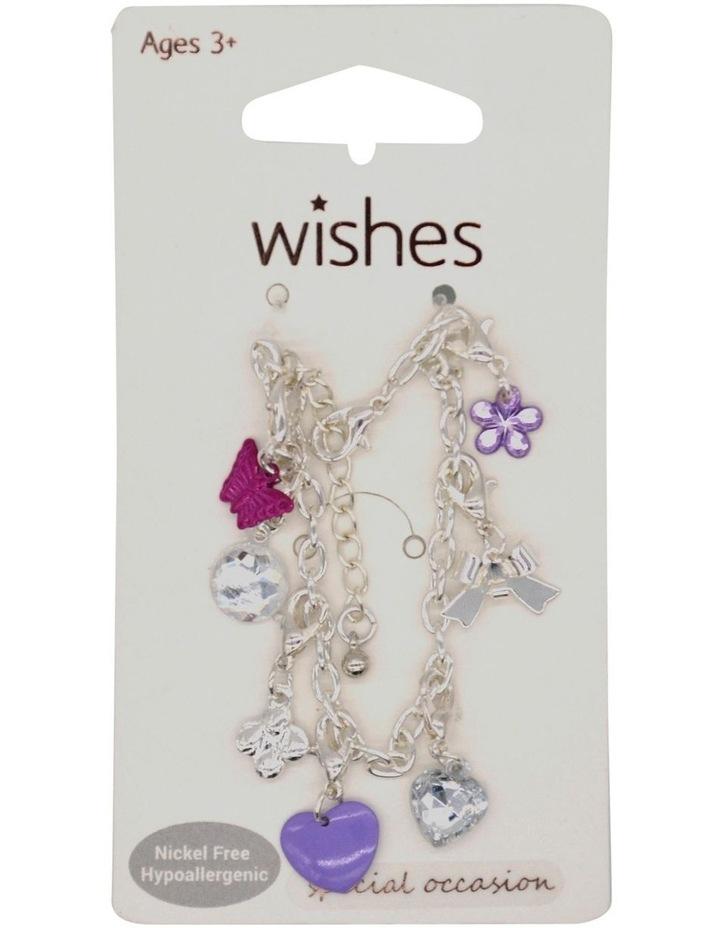 Wso Bracelet Charm Purple image 1