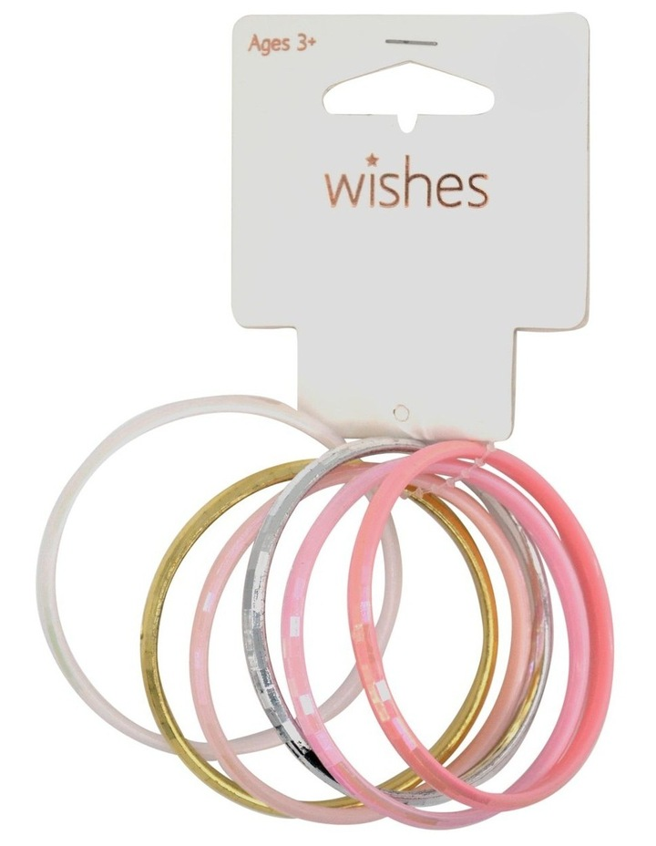 Wis Bangle Set Pink 6Pk image 1
