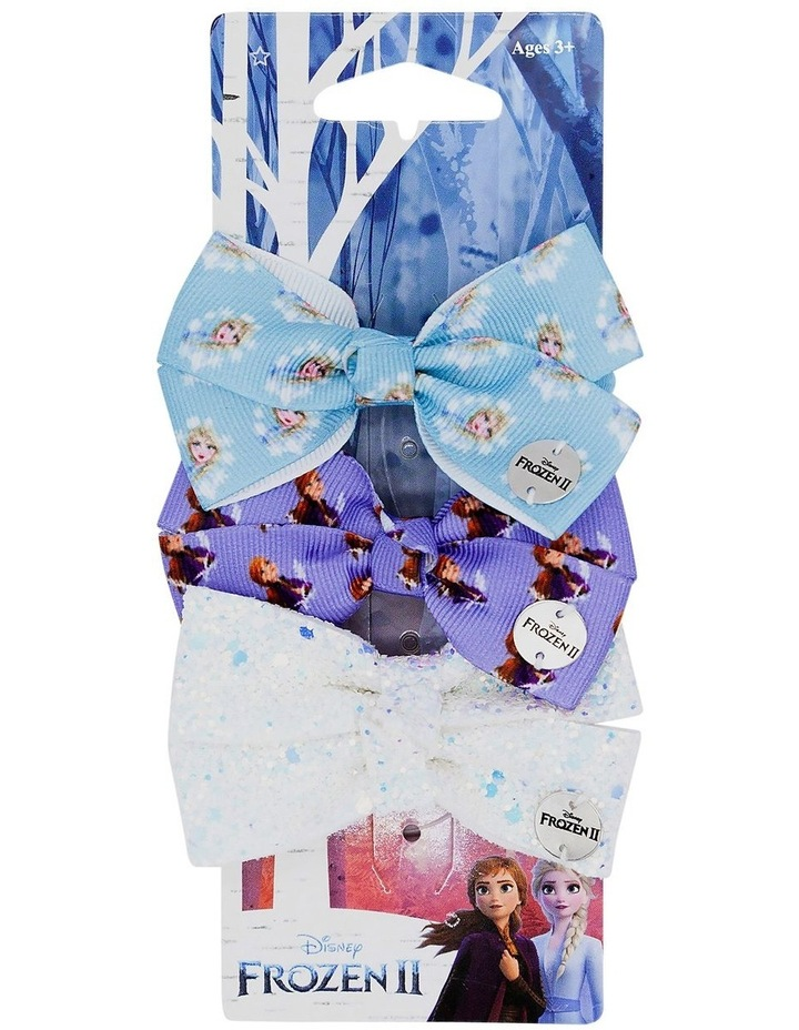 Frozen 2 Hties Bow Elastic 3 Pack image 1