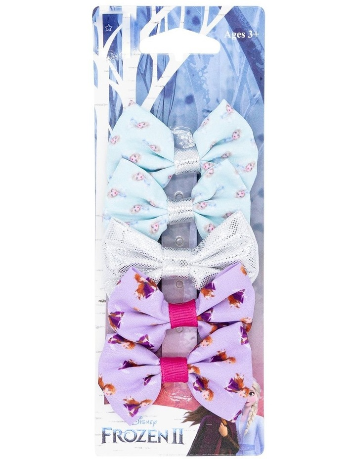 Frozen 2 Clips Mini Bow 5 Pack image 1