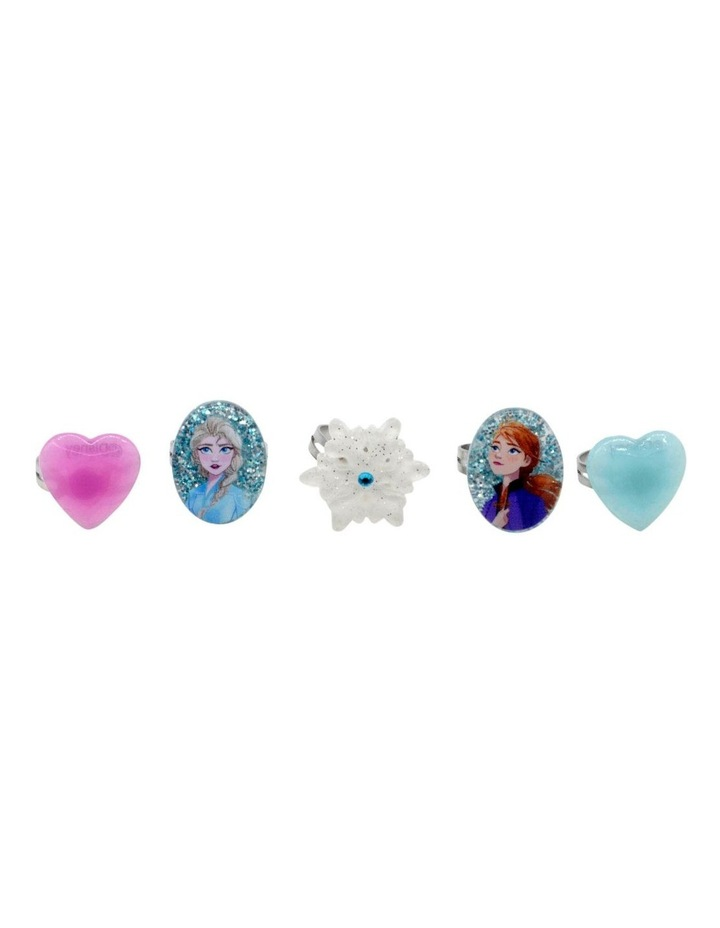 Frozen 2 Rings 5 Pack image 1