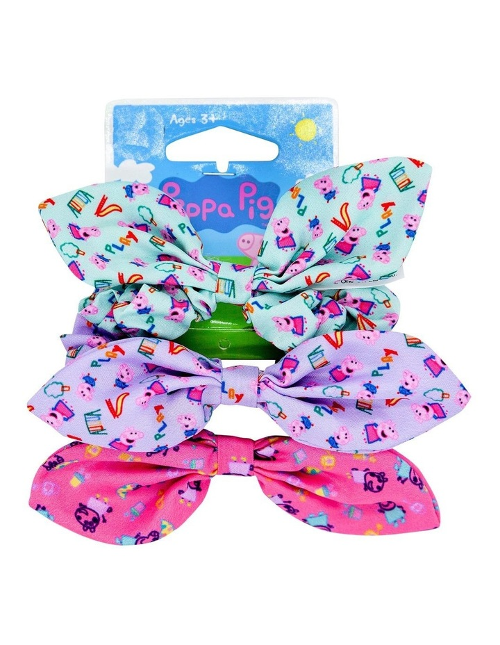 Pep Bw Bow Scrunchie 3 Pack image 1