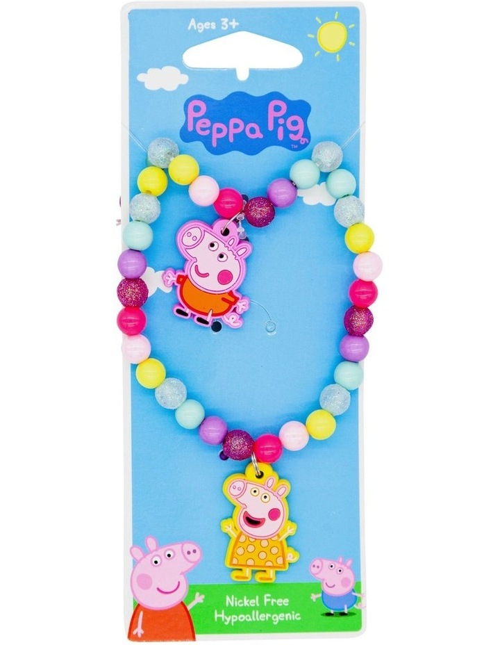 Pep Bw Necklace & Bracelet Set image 1
