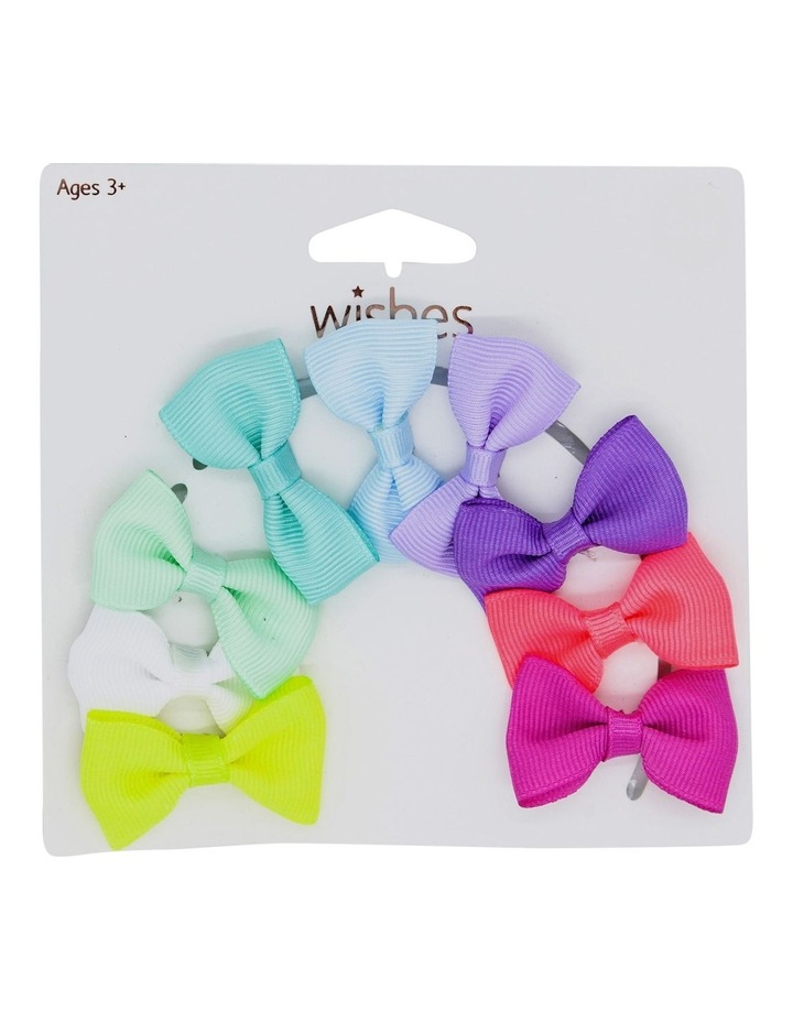 Hairclips Bows Mega 9 Pack image 1