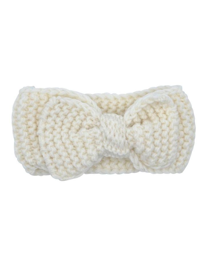 Hairwrap Knit Cream image 1