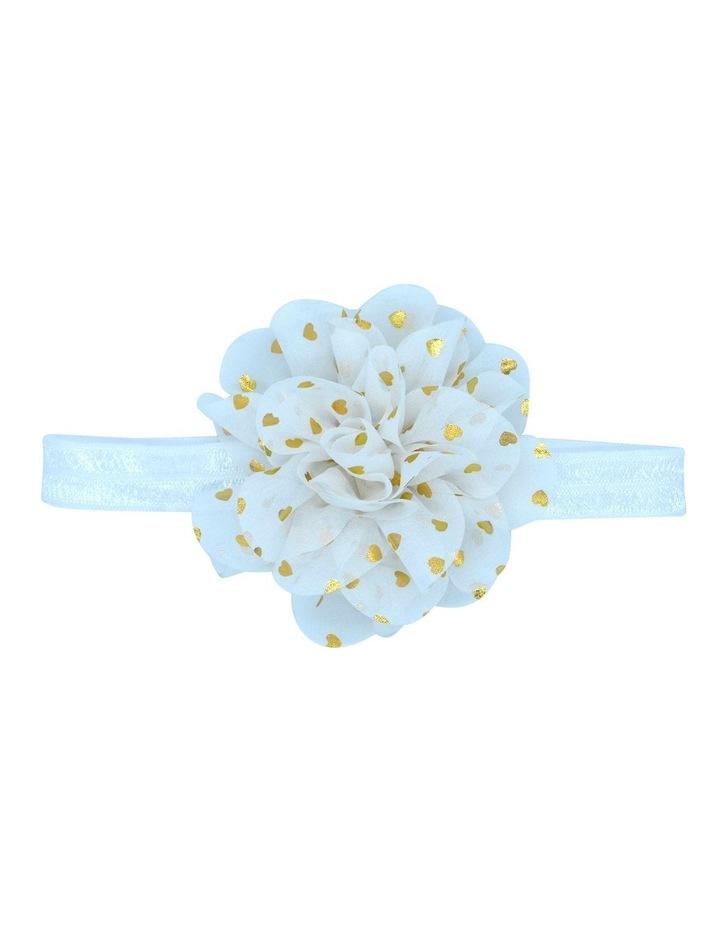 Hairwrap Larg Tulle Flower image 1