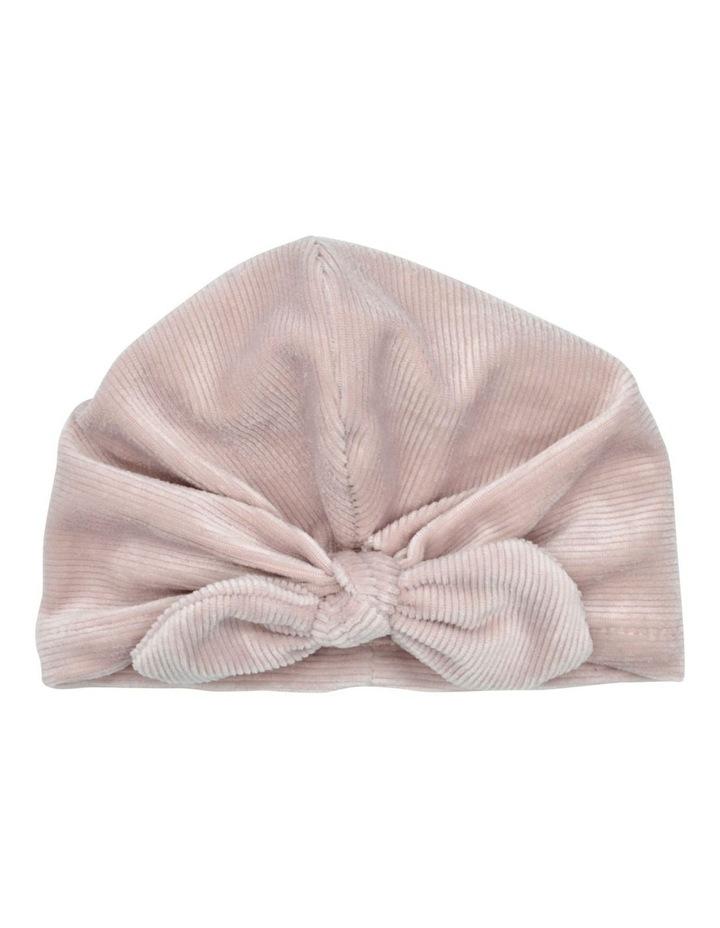 Hairwrap Turban Cord Pink image 1