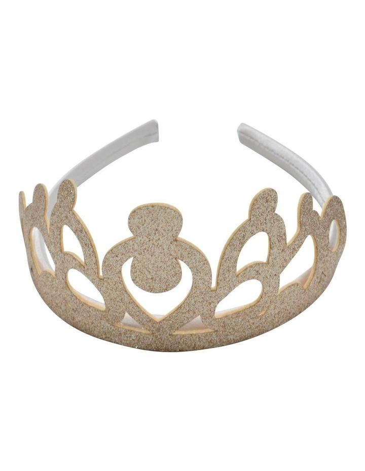 Aliceband Crown Gold image 1
