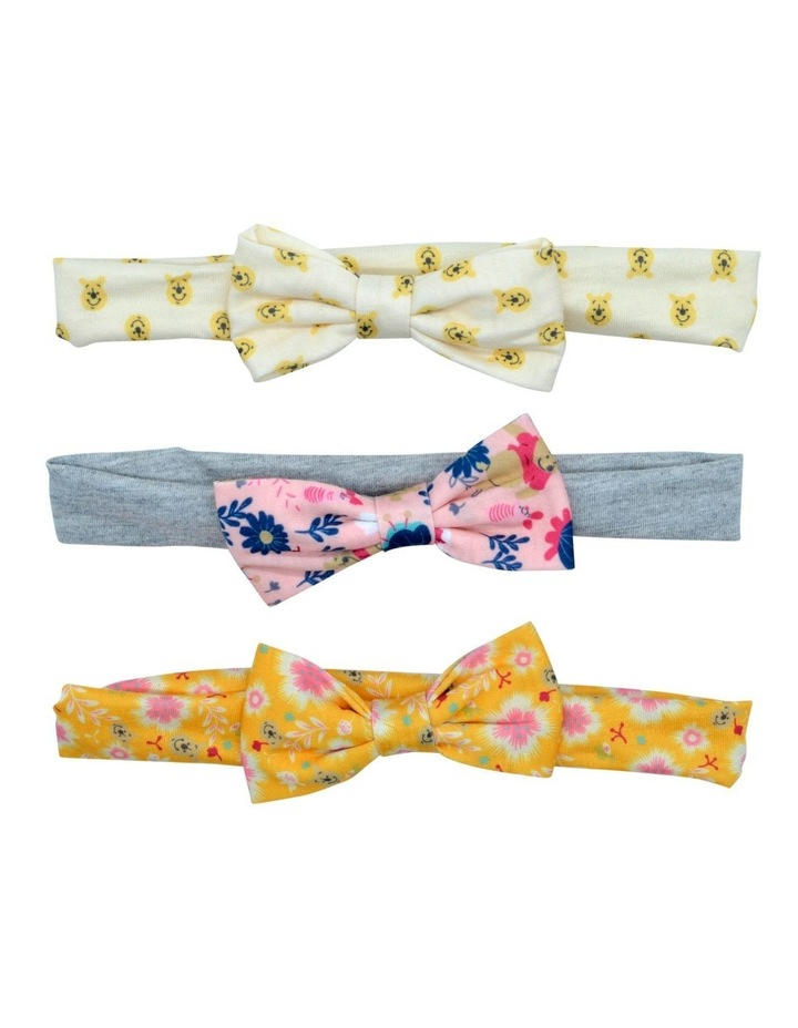 Wtp Hairwrap Bow Small 3 Pack image 1