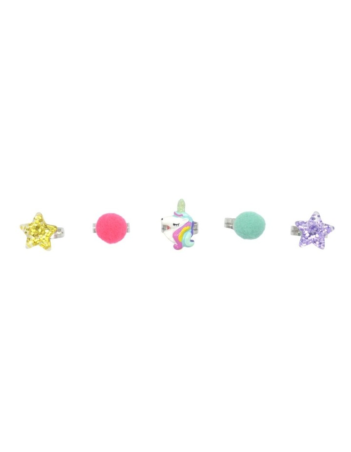 WISHES RINGS UNICORN POP 5 PACK image 1