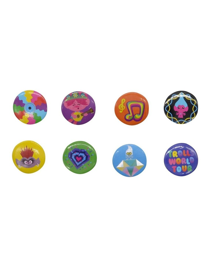 TROLLS BADGES ASSORTED 8 PACK image 1