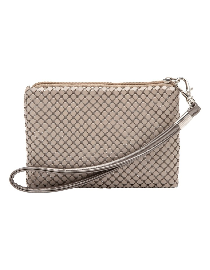 Petite Mesh Coin Purse in Putty image 1
