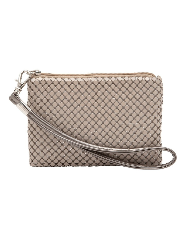 Petite Mesh Coin Purse in Putty image 2
